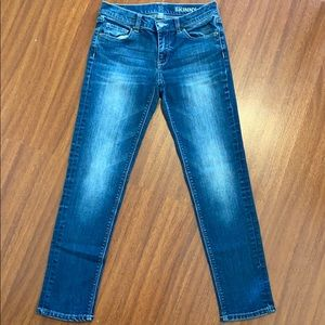 NY&C Low Rise Skinny Ankle jeans Size 0